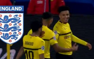 18-year-old becomes England's second youngest Champions League scorer with Dortmund goal