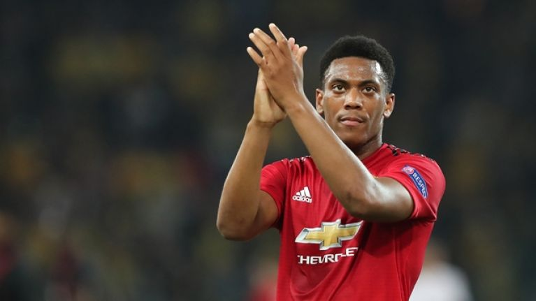 Anthony Martial reportedly rejects latest contract offer from Manchester United