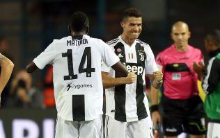 Cristiano Ronaldo scores first fizzbang of his Serie A career