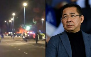 Leicester City owner's helicopter crashes outside of King Power stadium