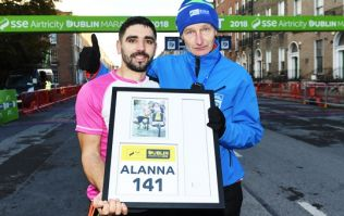 Father running Dublin Marathon in memory of his late daughter wins special award