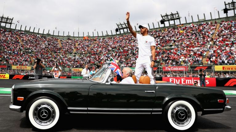 Lewis Hamilton crowned F1 World Champion for fifth time