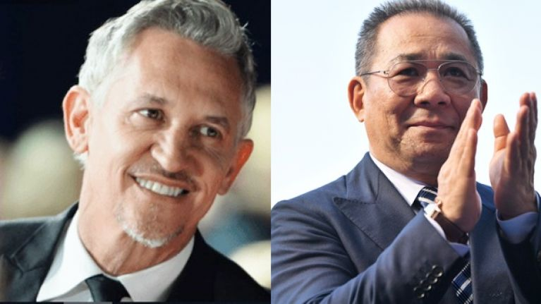 Gary Lineker posts touching tribute to Vichai Srivaddhanaprabha after helicopter crash