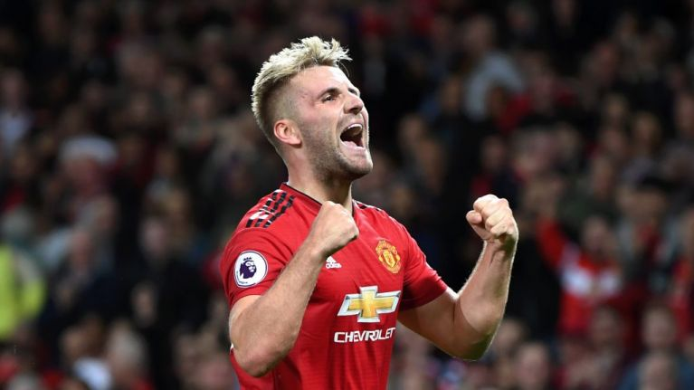 Luke Shaw posts genius response to Paul Pogba's elaborate penalty run up