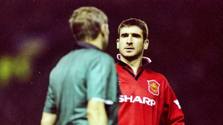Eric Cantona explains motivation for his most iconic Manchester United goal celebration