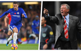 Alex Ferguson tried to persuade Eden Hazard to join Man United instead of Chelsea