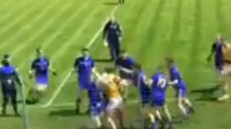 Multiple players gang up on full-forward in latest GAA brawl