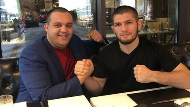 Khabib Nurmagomedov holds talks to have Mayweather fight take place in Moscow