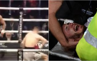 Freak injury results in first career defeat for Belfast's Ryan Burnett