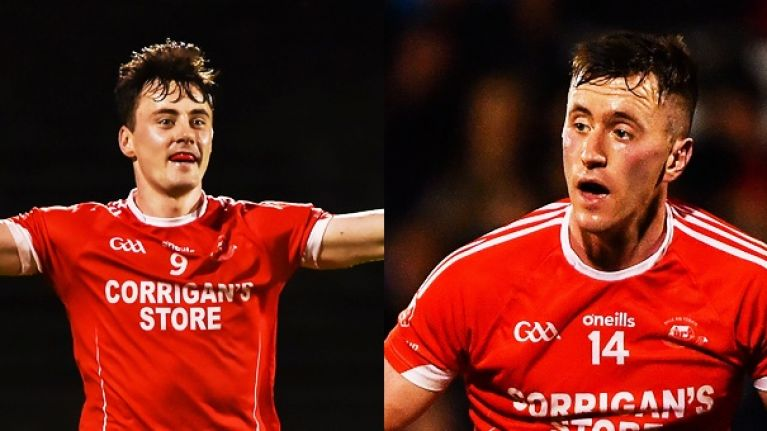 The O'Connors were Ballintubber's only scorers but they still won in Connacht