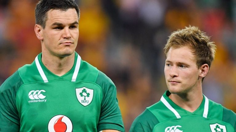 The Ireland team that should start against Argentina