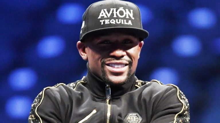 Floyd Mayweather's first fight in MMA confirmed
