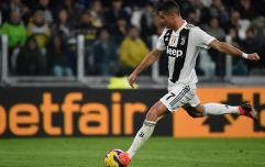 Cristiano Ronaldo not allowed to take certain free-kicks for Juventus