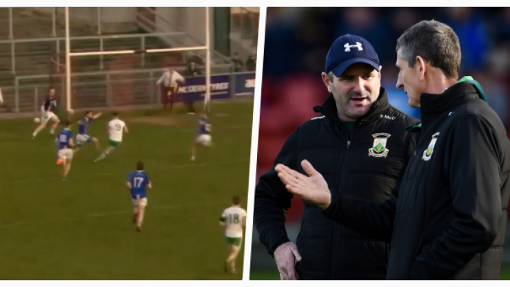 The decision not to award Burren a penalty in the dying seconds of Sunday's Ulster club game has everyone talking