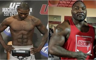 So Anthony Johnson weighs 285lbs right now and wants fight with Jon Jones at heavyweight
