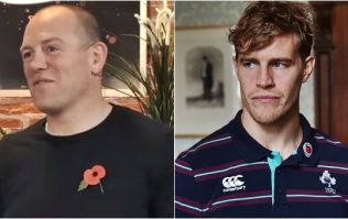 Andrew Trimble gives unmistakable response to Mike Tindall comments on Ireland