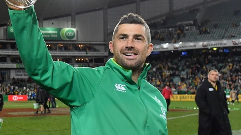 Three fullback options for Ireland as Rob Kearney set to miss Argentina game 7d20be581