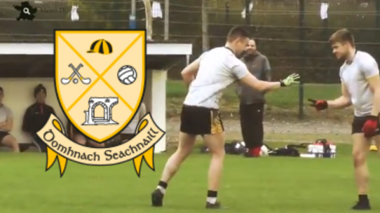 Dunshaughlin's revised rules tournament really put the foot back into football