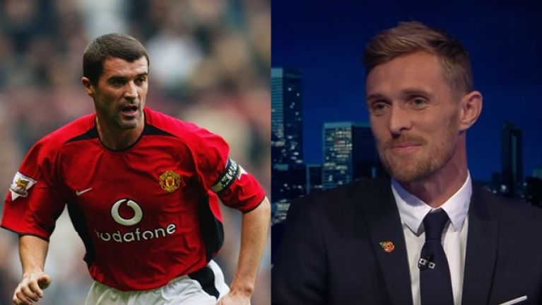 Darren Fletcher speaks about the impact Roy Keane had on his career