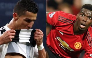 There couldn't have been more of a contrast between Ronaldo and Pogba's reactions to goals