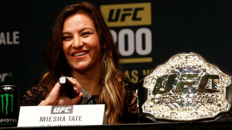 Miesha Tate has been appointed by ONE Championship as vice-president