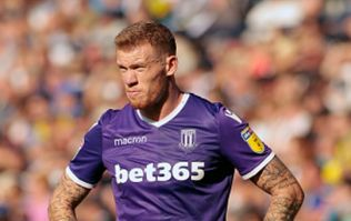 Stoke City manager Gary Rowett reveals that packages have been sent to James McClean