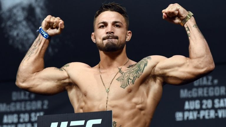 Mike Perry takes aim at his own teammate for pulling out of fight this weekend