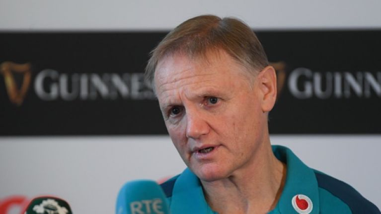 Joe Schmidt on Larmour's battle with Kearney and why Marmion starts