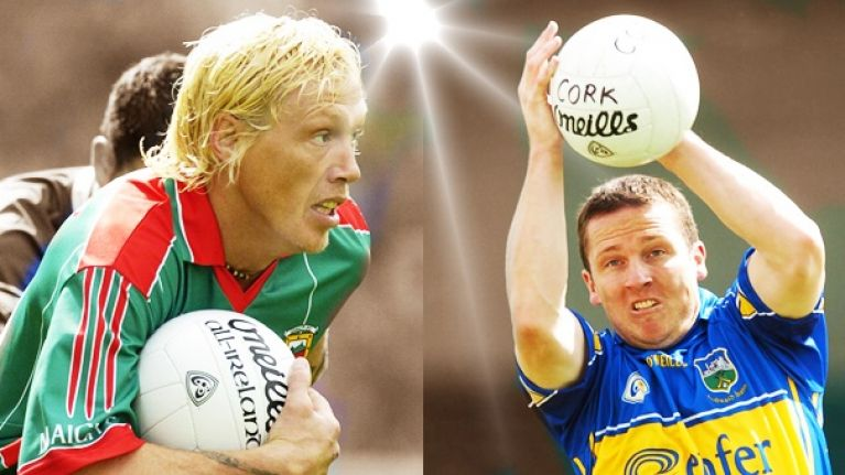Was the Gaelic football legend left or right-footed?