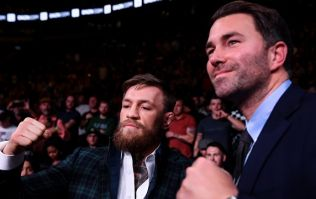 Eddie Hearn confirms talks with Conor McGregor about second boxing bout