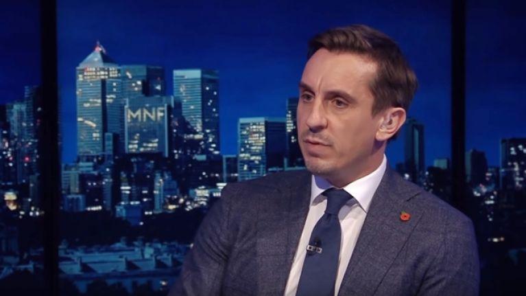 Gary Neville reckons Sergio Ramos should win the Ballon d'Or