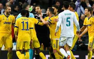 Gianluigi Buffon apologises for Champions League outburst at Michael Oliver
