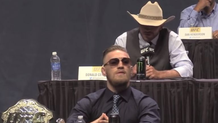 """Donald Cerrone """"waiting on"""" Conor McGregor to agree to lightweight clash"""
