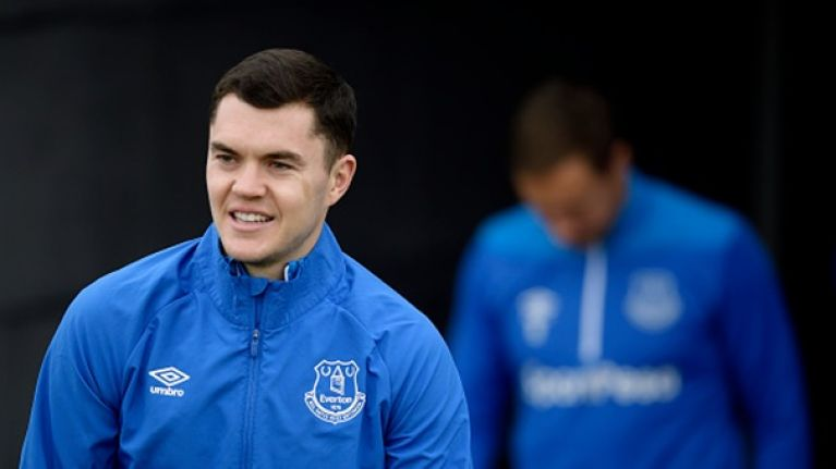 Michael Keane offers Declan Rice some advice on international future