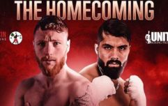 Ray Moylette's homecoming fight will be shown live on Irish terrestrial television
