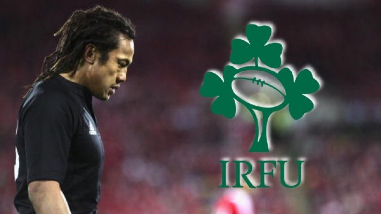 Tana Umaga selects the Irish players he thinks would get into New Zealand's first XV