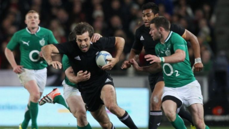 New Zealand legend, Conrad Smith pays Ireland a huge compliment