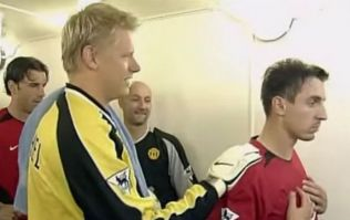 Gary Neville defends decision to snub Peter Schmeichel ahead of 2002 Manchester derby