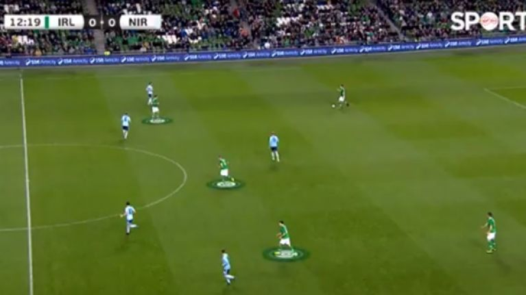 Ireland's poor plays starts with the three-man defence