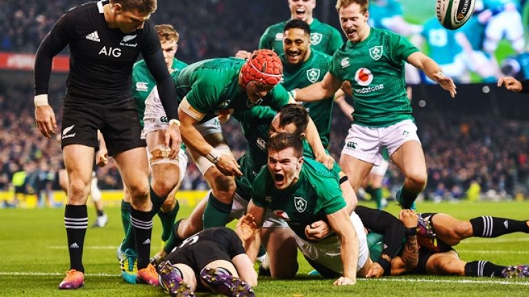One Ireland legend gets perfect 10/10 as All Blacks are beaten again