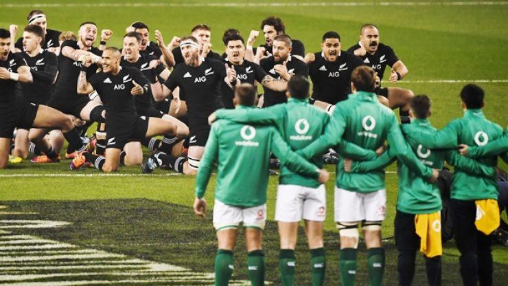 Josh van der Flier on why Ireland stepped forward to face the Haka