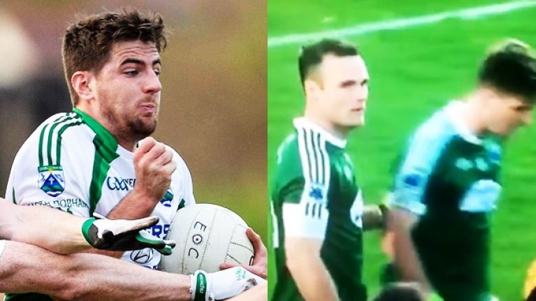 Gaoth Dobhair's hat-trick hero puts body on the line and Neil McGee couldn't have been prouder