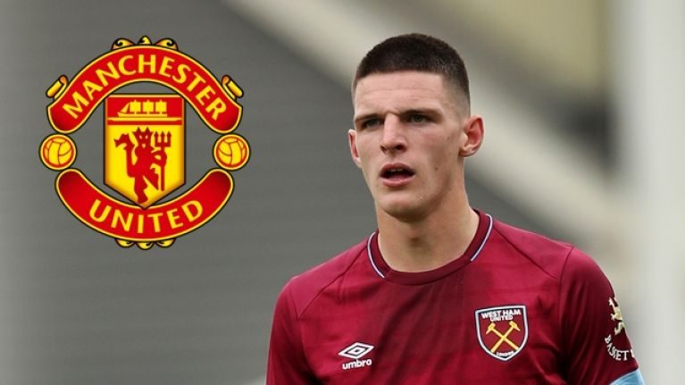 Manchester United are reportedly interested in signing Declan Rice