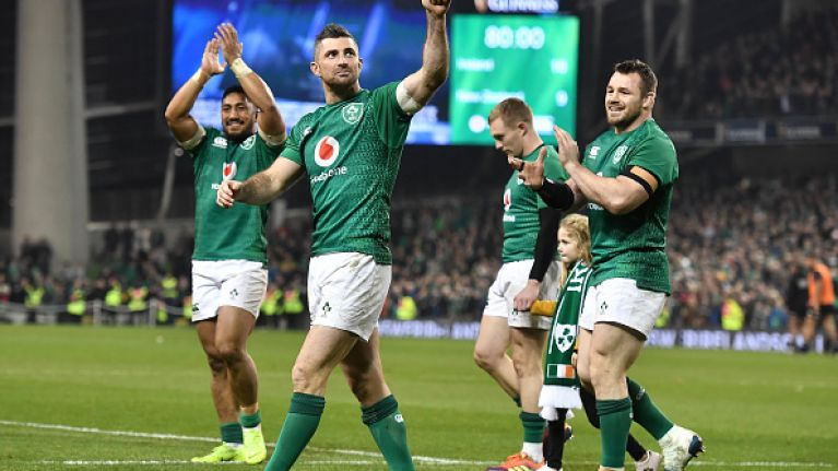 A friendly or not; why begrudge Irish Rugby's success?