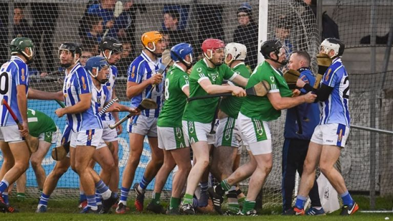 """""""It descended into a bit of a farce"""" - Brian Carroll sums up craziest game of hurling in a long time"""