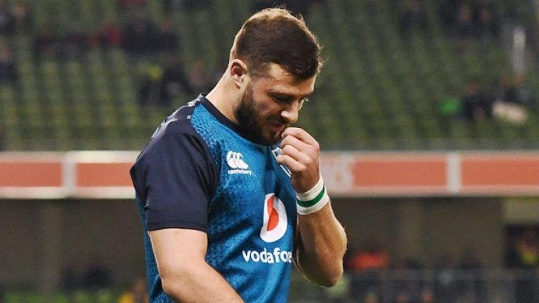 Robbie Henshaw must be considered a doubt for All Blacks after set-back