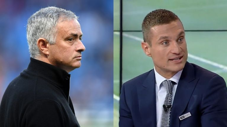 """Nemanja Vidic refuses to criticise Jose Mourinho because he """"wants to become Manchester United manager"""""""
