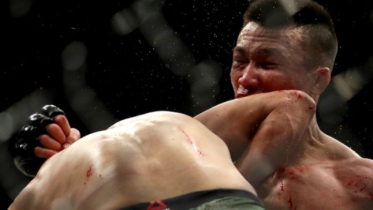 """""""Craziest finish ever"""" was the perfect exclamation mark on the UFC's 25th anniversary"""