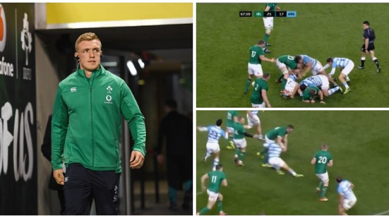 Analysis: A detailed look at Dan Leavy's contributions against Argentina