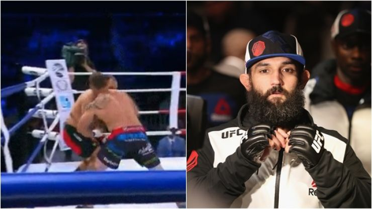 Former UFC champion Johny Hendricks' bare-knuckle fighting debut went terribly